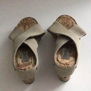 Esprit cork heels